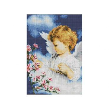 Алмазная вышивка Малютка ангел