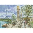 Алмазная вышивка Мост Александра III