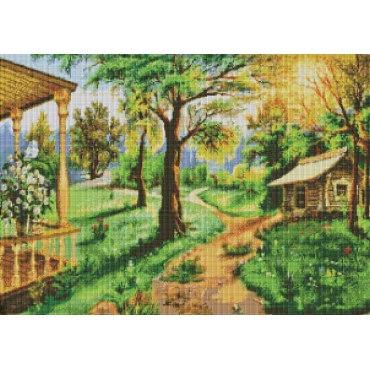 Алмазная вышивка Дорожки-тропинки