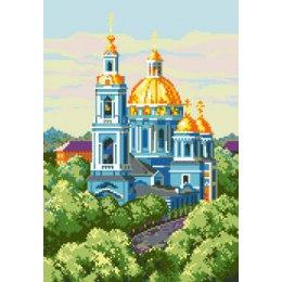Алмазная вышивка Елоховская церковь