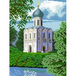 Алмазная вышивка Храм Покрова
