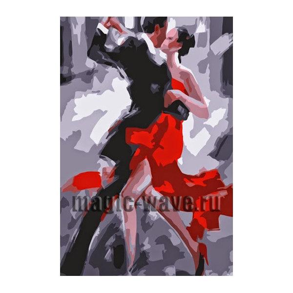 Алмазная вышивка Танец страсти