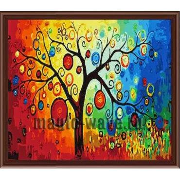 Алмазная вышивка Дерево счастья