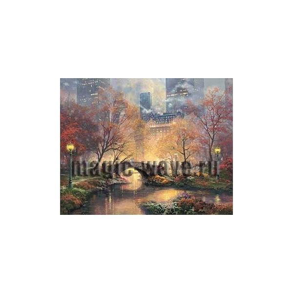 Центральный парк осенью