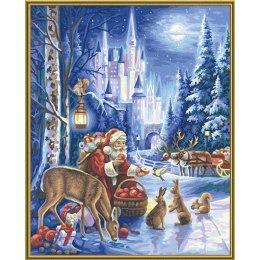 Санта среди зверей