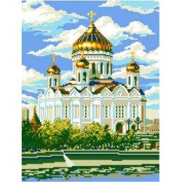 Алмазная вышивка Храм Христа Спасителя