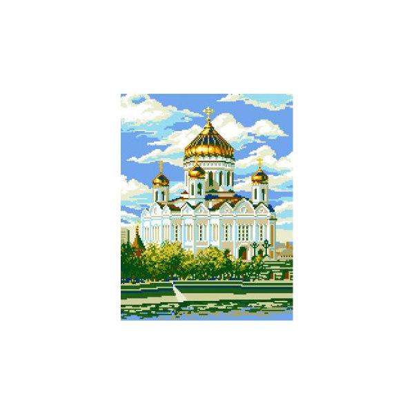Алмазная вышивка Храм Христа