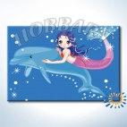 Дельфин и русалка