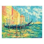 Стоянка гондол. Венеция