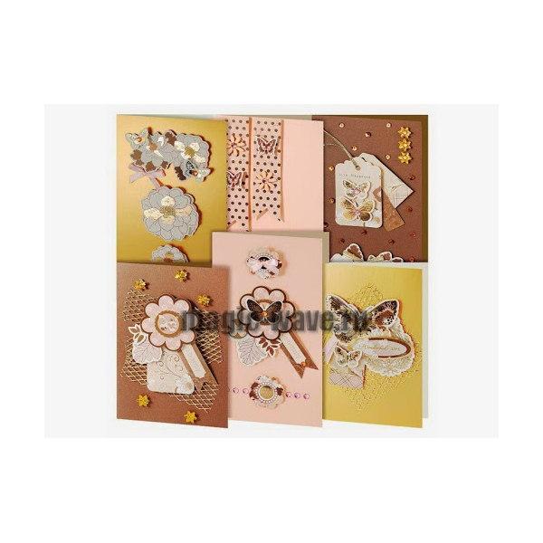 Набор из 6-ти открыток Бабочки