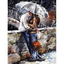 Алмазная вышивка Романтическая прогулка под дождем