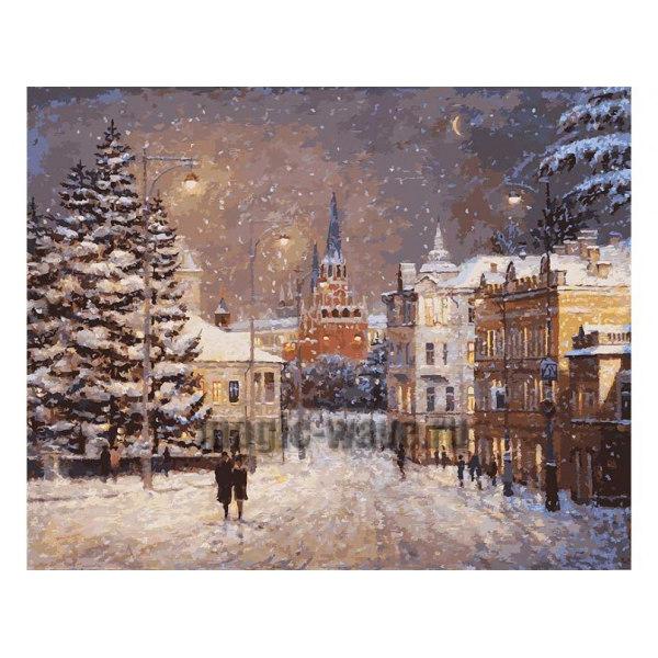 Снег на Волхонке