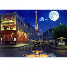 Алмазная вышивка Вечерний Париж