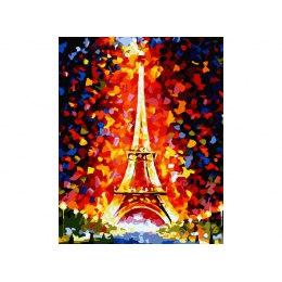 Париж - огни Эйфелевой башни