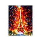 Париж - огни Эйфелевой башни (репродукция Леонида Афремова)