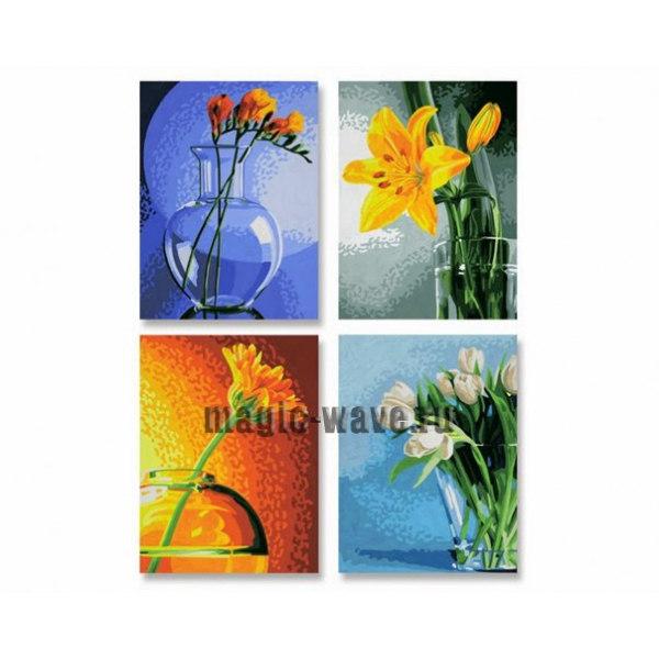 Цветы 4 шт
