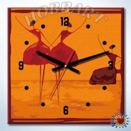Балеринки (часы-раскраска)
