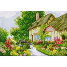Алмазная вышивка Милый дворик