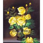 Алмазная вышивка Желтые розы