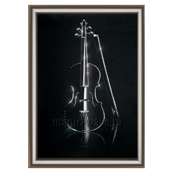 Алмазная вышивка скрипки