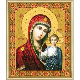Алмазная вышивка Икона Божьей Матери Казанская