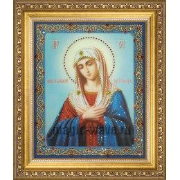 Алмазная вышивка Икона Божьей Матери Умиление
