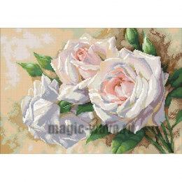 Алмазная вышивка Античные розы