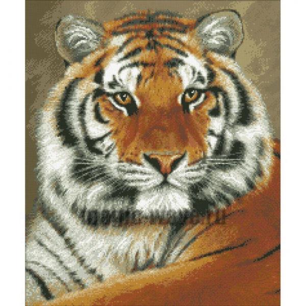 Вышивки тигра готовые работы