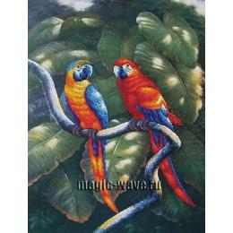 Вышивка бисером Краски джунглей