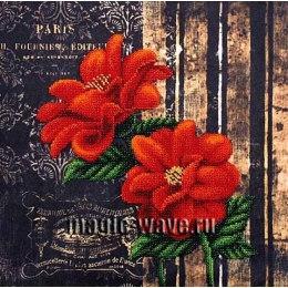 Вышивка бисером Французские цветы