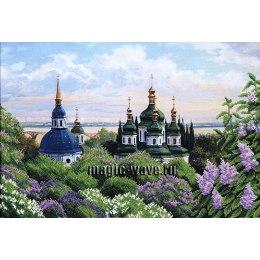 Вышивка бисером Весенний собор