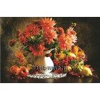 Алмазная вышивка Цветы и фрукты