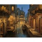 Алмазная вышивка Теплый вечер в Венеции