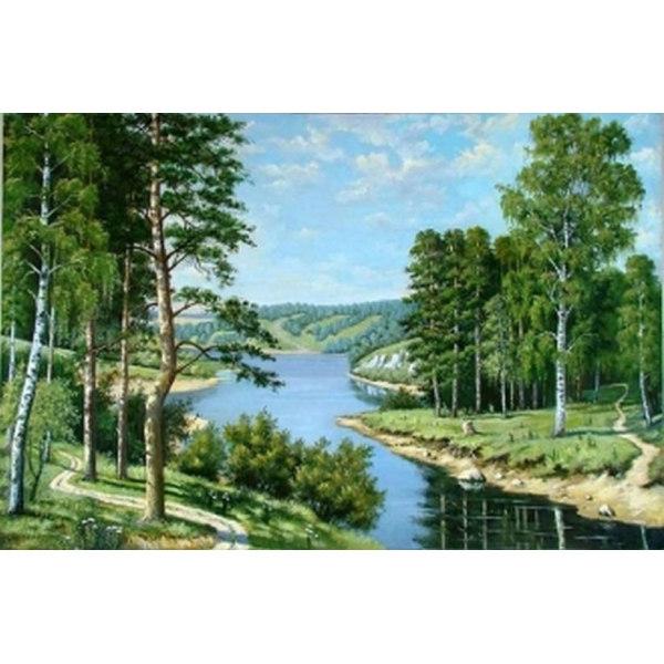 Алмазная вышивка Российский пейзаж