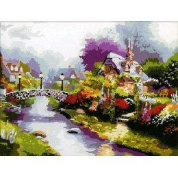 Цветущий городок