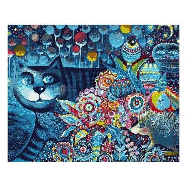 Индиго кот