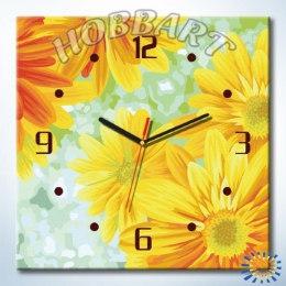 Солнечный круг (часы-раскраска)
