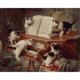 Котята музыканты