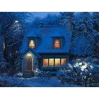 Алмазная вышивка Зимний вечер