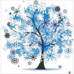 Алмазная вышивка Новогоднее дерево