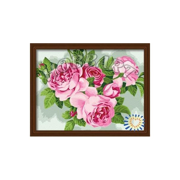 Розовое пышноцветье