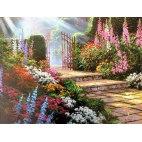 Алмазная вышивка Дорожка в сад