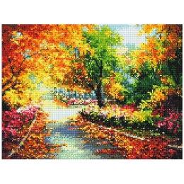 Алмазная вышивка Осенняя дорожка