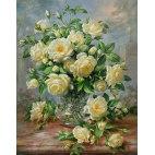 Алмазная вышивка Кустовая роза