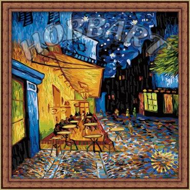 Ночное кафе. Ван Гог