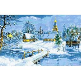 Алмазная вышивка Зимняя сказка