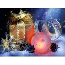 Алмазная вышивка Новогодний подарок