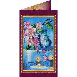 Вышивка бисером Южная ночь-4 (открытка)