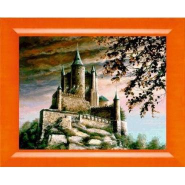 Алмазная вышивка Средневековый замок