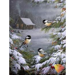 Алмазная вышивка Вестницы зимы